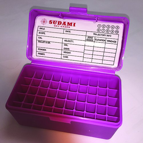 344 Pink Ammo Box